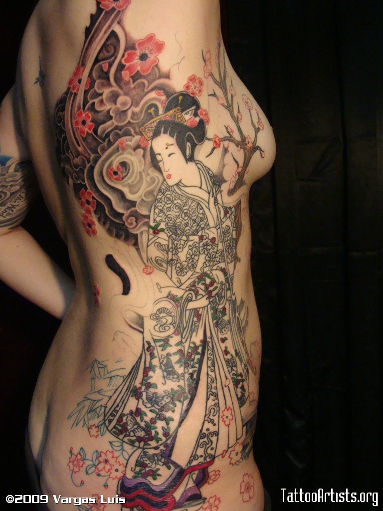 Japanese Tattoo Designs Women